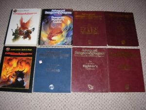 Dungeons and Dragons Manuals