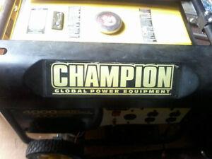 Champion Generator 4000 EUC
