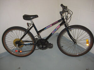 24'' free spirit bike 18 speed tuned up ready to ride