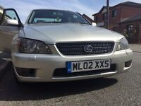 Lexus IS200. 02 reg