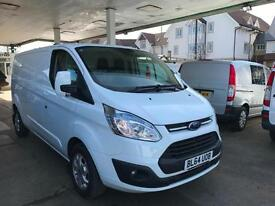 2015 FORD TRANSIT CUSTOM 290 LTD E LONG WHEEL BASE 125PS