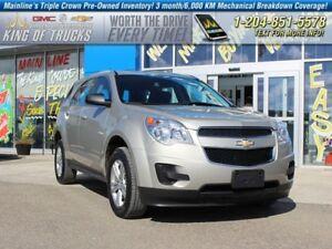 2014 Chevrolet Equinox LS I Fuel Efficient  - OnStar - $157.14 B