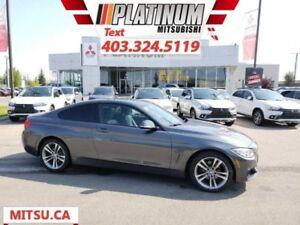 2015 BMW 4 Series 428i xDrive  Premium-Nav-Leather-Turbo Blow Ou