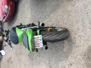 Kawasaki z1000 modded