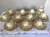 Vintage Royal Stafford bone china tea set
