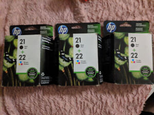 Hp ink for printer brand new still in box