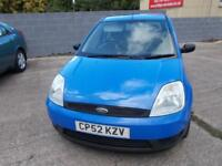Ford Fiesta 1.3 2002.5MY Finesse. excellent value cheap car long mot .