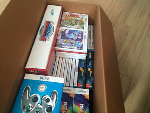 BIG LOT 36 Wii U and 3ds NEW SEALED and Used  Mario Sonic Rio