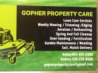 Let's us take care of your property.