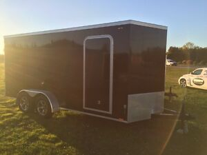 2016 7x16 V-NOSE THUNDER CARGO TRAILER