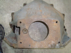 AFTERMARKET CAST IRON BELL HOUSING sbc bbc 348/409