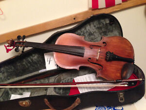 Violin- Made by Willy Seidel