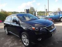 LEXUS RX 450H SE-I 2011 Hybrid Automatic in Black