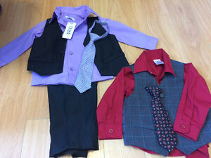 Baby boy clothing lot 12m 106 pieces