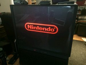 Projection TV perfect for Retro Video Games