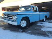 1968 Dodge D100 Sweptline Truck - MOPAR FARGO