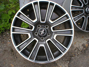 "05 + MUSTANG OEM ALLOY 19"" WHEELS"