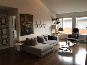 Condo for rent with 5 appliances, garage, pool, LACHINE