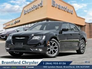 2018 Chrysler 300 300S  leather-pano sunroof-navigation-awd-$ 23