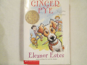 Ginger Pye Chapter Book by Eleanor Estes