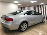 Audi A5 TDI Quattro DIESEL Silver 4x4 V6 WARRANTY 12 MONTHS MOT FULL SERVICE H