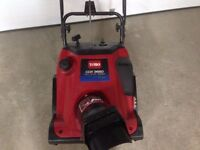 TORO CCR3650 SNOWBLOWER