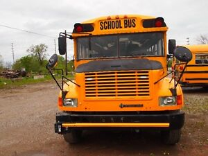 2002 INTERNATIONAL SCHOOL BUS FOR STORAGE OR RV CONVERSION