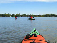Kayak  classes and  clinics