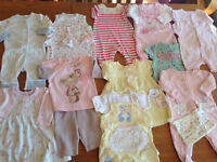 Large bundle of newborn baby girl all immaculate condition