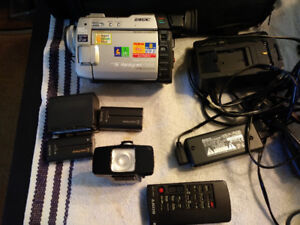 Sony DCR-TRV 9 Digital Camcorder with case and tapes