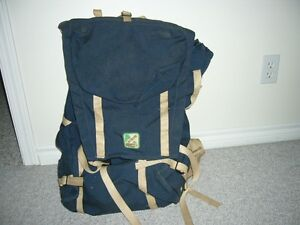 large expandable external frame backpack