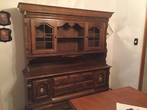 Side board and china cabinet