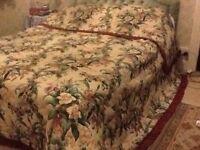 Beautiful Antique Bedspread