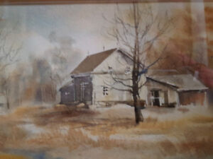 Winter Landscape Carol Sebold 1939 - 2010 - Painting - Original