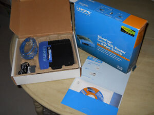 CISCO Linksys Cable/DSL Non-Wireless ROUTER in box