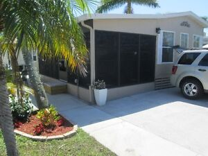 Mobile home for rent at Fort Myers