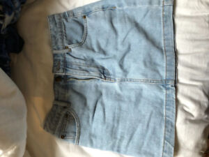 jean skirt (short skirt) from H&M