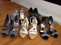 Ladies party footwear