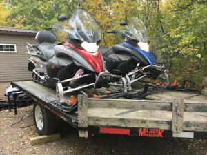 Grandpa is Selling His Gently Used Toys -double wide trailer