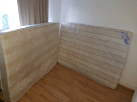 2 Double Mattresses for FREE