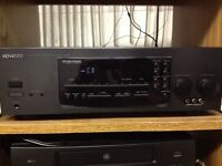 Kenwood surround receiver and cd player