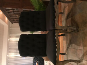 2 dining room or accent chairs
