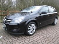 07/56 VAUXHALL ASTRA 1.6 SXI 5DR HATCH IN BLACK WITH SERVICE HISTORY