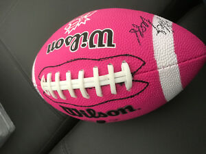 Signed Bombers football