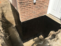 Exterior Foundation Waterproofing Services
