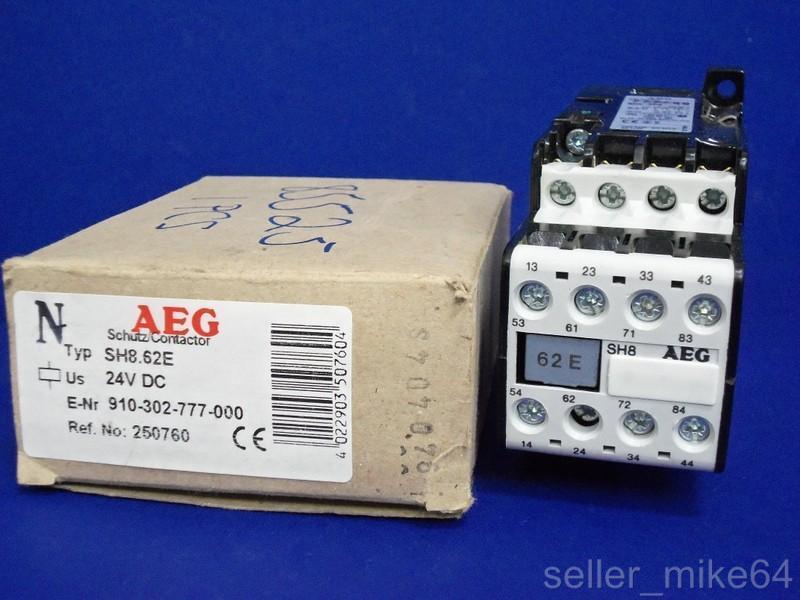 AEG E-NR910-302-777-00 24 VDC CONTACTOR, NIB *PZF*