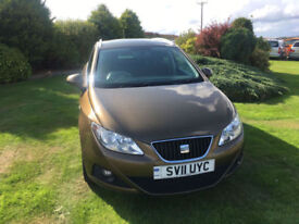 2011 11 Seat Ibiza 1.2 TSI (105ps)ST Sport Estate Brown 5 Door NEW MOT WITH CAR.