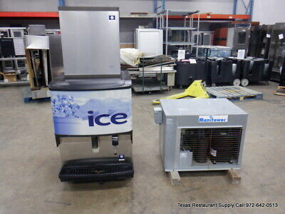 Manitowoc Ib0824yc 800 Lbs Icewater Dispenser Machine With Remote Unit
