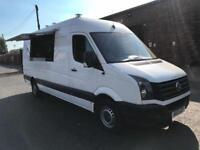 VW CRAFTER LWB 2013REG MOBILE CATERING/BURGER/FOOD/COFFEE/ VAN FOR SALE