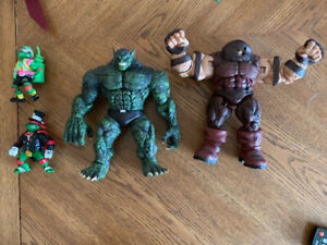 Marvel Selects Juggernaut & Abomination Collector Action Figures